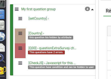 LimeSurvey bugs and feature requests